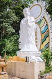 Statue in Linh Son Truong Tho pagoda on the mountain Ta Cu, Vietnam. TA CU, PHAN THIET, VIETNAM - November 07, 2017: Statue in Linh Son Truong Tho pagoda on the royalty free stock image