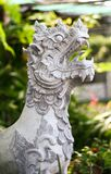 Statue lion Stock Photo