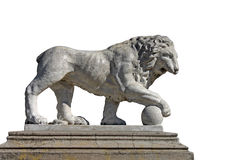 Statue of lion Royalty Free Stock Images