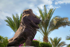 Statue lion Royalty Free Stock Photo