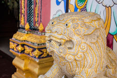 Statue lion Stock Image