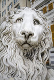 Statue of a lion, genoa Royalty Free Stock Image