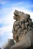 Statue of lion Stock Photos