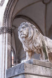 Statue of Lion II Royalty Free Stock Photography