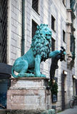 A statue of a lion in Munich,  Germany Stock Image