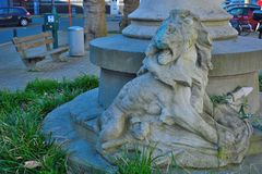 Statue of a lion Stock Photography
