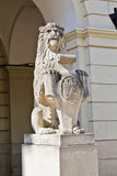 Statue of a lion Stock Photos