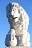Statue of lion. Stock Photos