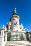 Statue in Lisbon Royalty Free Stock Photography