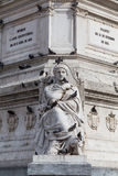 Statue lisbon Stock Photo