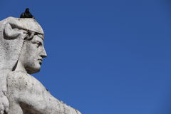 Statue in Lisbon Royalty Free Stock Image
