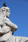 Statue in Lisbon Stock Photography