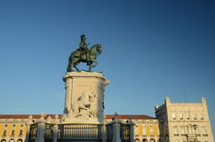 Statue in Lisbon Stock Photo