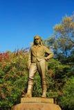 Statue of Livingstone stock image