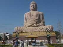 Statue of Lord Buddha 80ft high royalty free stock image