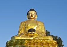 Statue of Lord Buddha. Buddha statue at Swayambhunath, Kathmandu, Nepal stock images