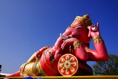 The statue of Lord Ganesh Stock Images