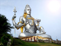 Statue of Lord Shiva Stock Photo