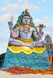 The statue of Lord Shiva Stock Photo