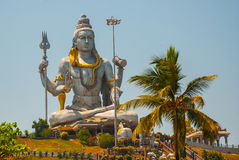 Statue of Lord Shiva in Murudeshwar. Temple in Karnataka, India Stock Photos
