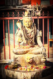 Statue of Lord Shiva in Pokhara Royalty Free Stock Photography