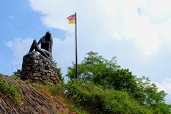 Statue of lorelei stock image