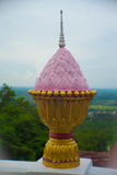 Statue lotus Stock Image