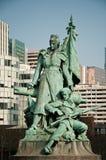 Statue by  Louis-Ernest Barrias. - La defense quarter Royalty Free Stock Photography