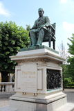 Statue of Louis Pasteur Stock Photography