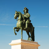 Statue Of Louis XIV At Versailles, France Stock Photography