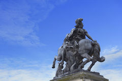 Statue of Louis XIV Royalty Free Stock Images