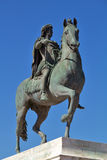 Statue of Louis XIV in Lyon city Royalty Free Stock Photo