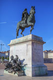 Statue of Louis XIV Royalty Free Stock Image