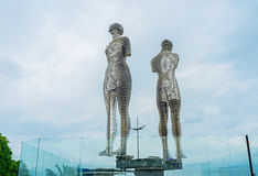 The Statue of Love in Batumi Royalty Free Stock Photo