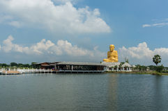 Statue of Luang Pu Thuat Royalty Free Stock Photo