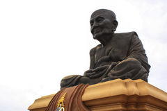 Statue of Luang Pu Thuat at Wathuaymongkol. In thailand Stock Image