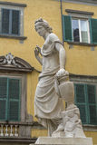 Statue in Lucca Stock Photo