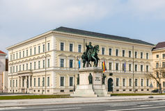 Statue of Ludwig I - Munich, Germany Stock Image