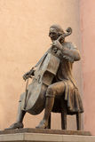 Statue of Luigi Boccherini. In Lucca, Italy Stock Image