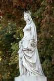 Statue in Luxembourg garden of Luxembourg Palace, Paris Royalty Free Stock Photo