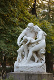 Statue in Luxembourg garden of Luxembourg Palace, Paris Stock Photo