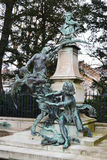 Statue in Luxembourg park in Paris Stock Photography