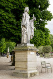 Statue in Luxembourgh Garden Royalty Free Stock Images