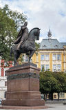 Statue in Lviv Stock Photography