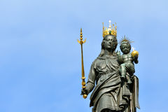 Statue of Madonna and Child, Constance Royalty Free Stock Images