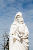 Statue of Madonna and Christ Royalty Free Stock Image