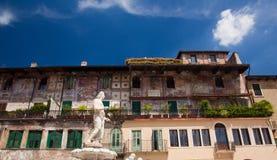 Statue of Madonna Verona Royalty Free Stock Photo