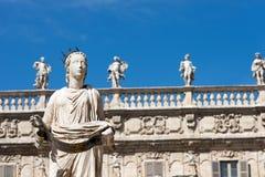 Statue of Madonna Verona - Italy Stock Photo