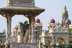 Statue of Maharaja Chamarajendar Wodeyar Stock Photography