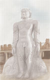 Statue of Mahavira Stock Images